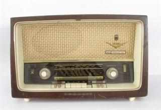 رادیو لامپی قدیمی